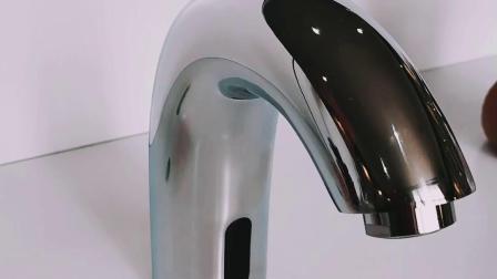 Bacino elettrico Robinet del sensore di Touchless del rubinetto della stanza da bagno automatica di freddo soltanto