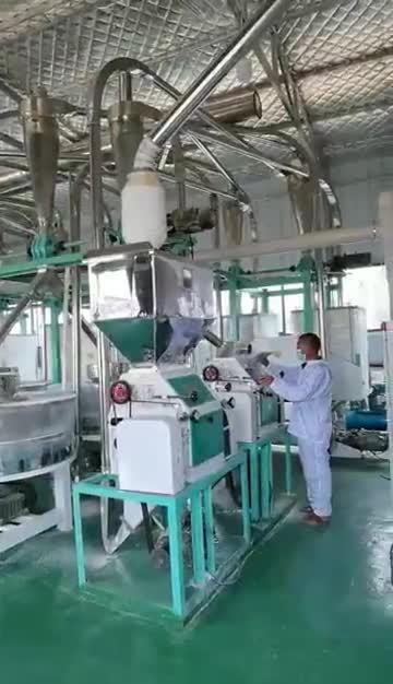 Hochwertige 200tpd Weizenmehl-Maschine