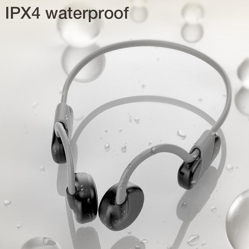 Cy-S4 à conduction osseuse des écouteurs stéréo sans fil Bluetooth 5.0 Écouteurs sport