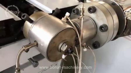 Komplette einwandige PE PVC Wellrohr Extrusion Produktionslinie