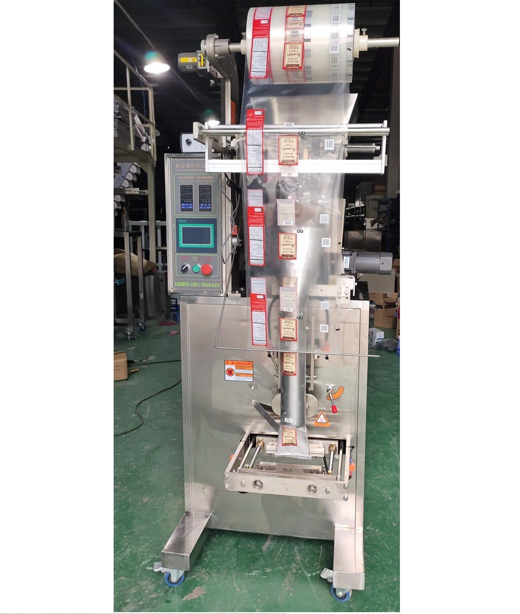 Automatische Wasser-/Milch-/Saft-/Shampoo-/Honig-/Tomatensauce-/Senföl / Butter Flüssigplastik Beutel Kleine Vertikale Verpackung Verpackungsmaschine Preis