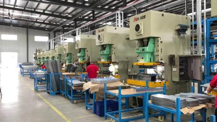 Separador de piezas de automóviles de servicio de perforación de estampación metálica fabricación de metal
