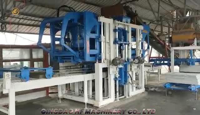 machine à fabriquer des blocs de type M10 japonais avec une énergie nouvelle ligne de production en boucle fermée