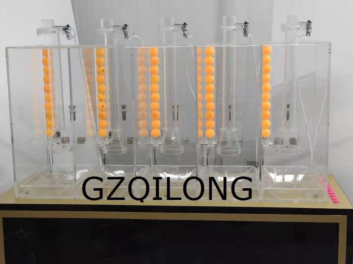 Multi-Chambers Zylinder Luft Blasmaschine Typ Bingo Maschine