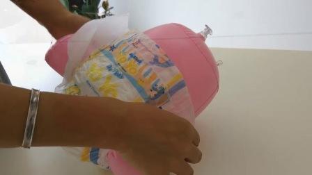 中国の使い捨て可能な貯蔵ロットの卸し売り赤ん坊のおむつ