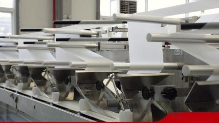 Automatische veegt Nat van China de Machine van het Weefsel af