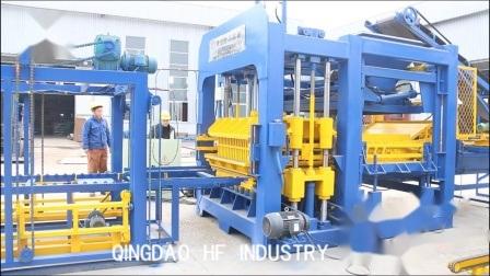 Entièrement automatique et ciment hydraulique machine à fabriquer des briques de blocs creux