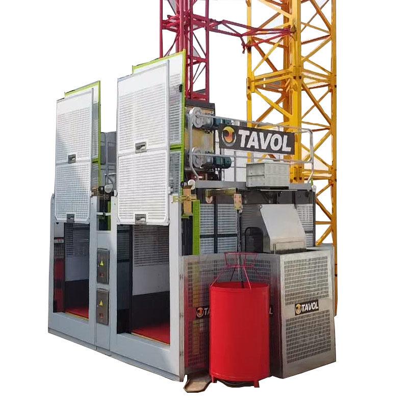 建設用エレベータ SC200/200 疲労ホイスト