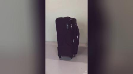 Chubont Bagage Factory voor TSA Lock Double Zipper Soft Bagage