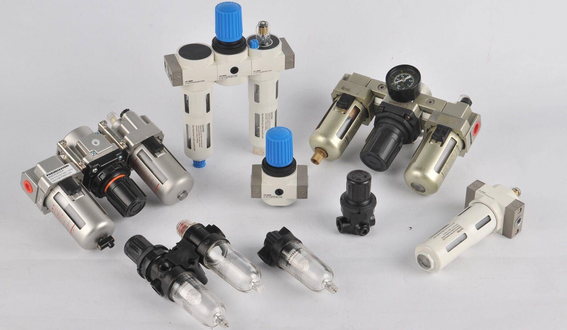 Pneumission lubrificateur du régulateur de filtre de haute qualité AC FRL série
