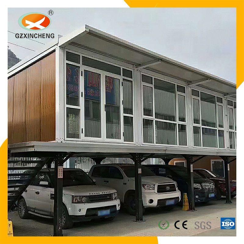 Venta caliente casa modelo de lujo casas modulares prefabricados Casa contenedor ampliable