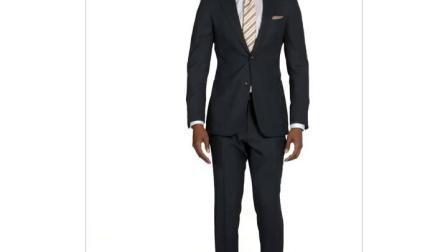 I vestiti di vestito dall'uomo di svago dei vestiti dell'abito di modo hanno annunciato il vestito degli uomini
