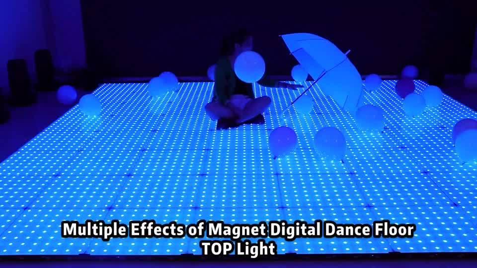 中国のナイトクラブマグネットビデオ xxx LED ダンスフロア