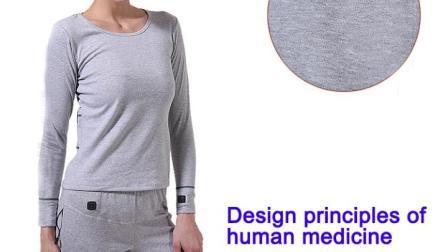 Abbigliamento per riscaldamento elettrico intelligente in fibra di carbonio riscaldamento indumenti caldi anticalore indossa biancheria intima riscaldata