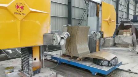 Draad van de diamant zag Scherpe Machine cnc-2000 van de Steen van het Graniet van de Machine Marmeren
