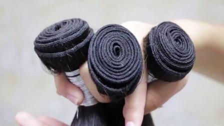 Braziliaanse Maagdenhaar Straight, 100% menselijke haarverlenging