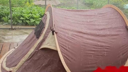 더블 레이어 유럽식 캠핑 텐트, 야외 텐트, 가족 텐트