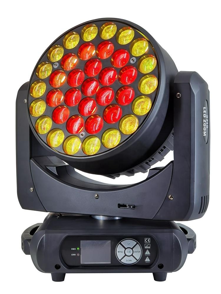 LED-Effektleuchten 37 * 15W 4in1 Wash Moving Head Light DJ Licht