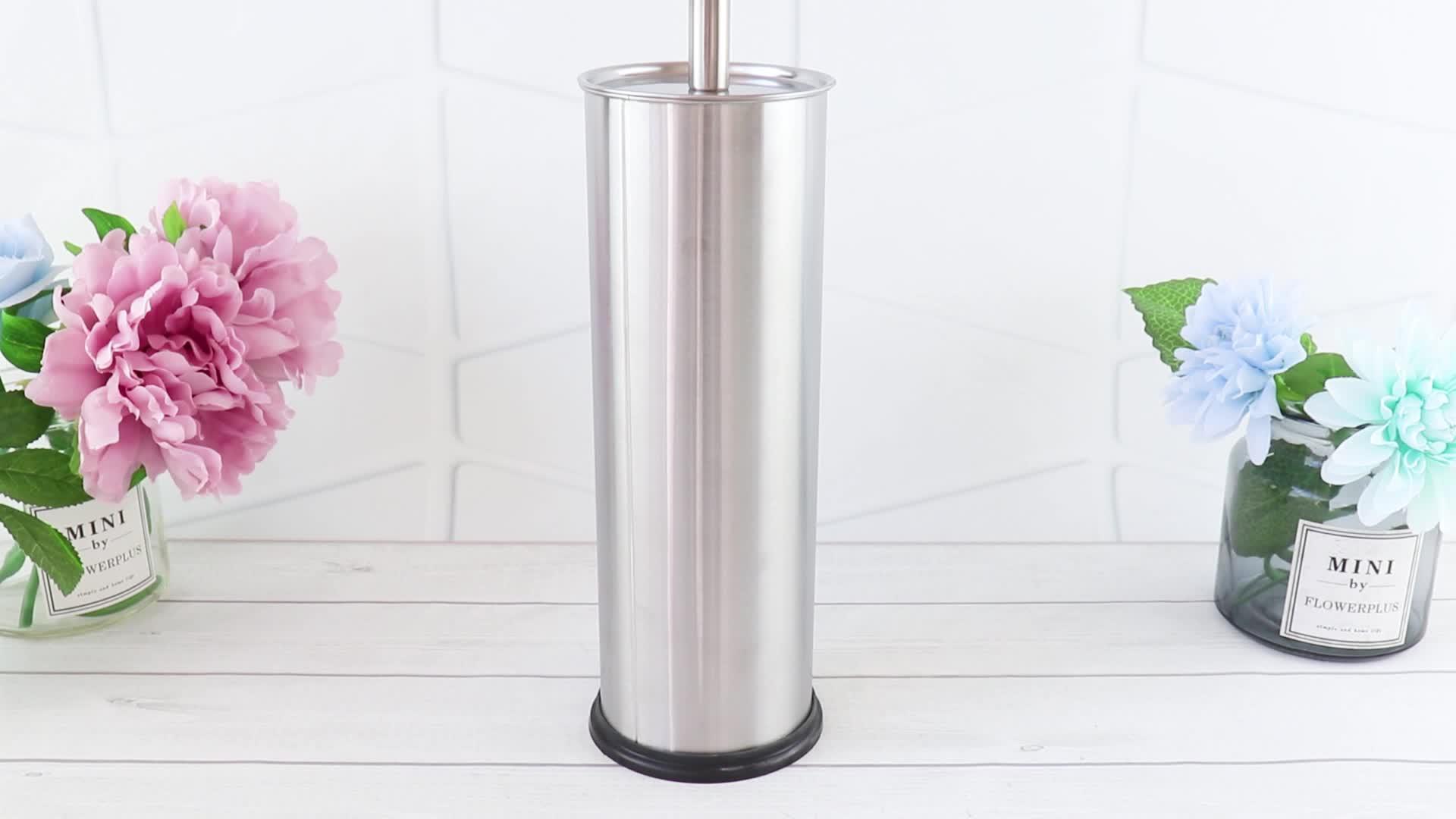 Schoonmaakgereedschap Product RVS toiletborstel