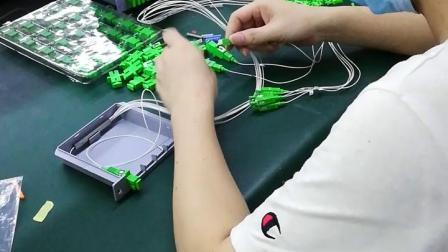 1X8 волокна PLC разветвитель в мини-Plug-in для сети PON