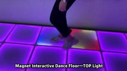 LED Projection interactive plancher de danse de mariage pour la piste de danse des voyants LED