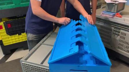 Contenitori in plastica di alta qualità contenitori in plastica Crate in Vendita