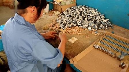 2020 filamentos Birstles Pega de madeira Ferramentas Manuais de filamentos sintéticos Broxa com pega de madeira e plástico