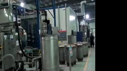 Bomba de calor tanque interno molhado eletrostática porcelana Linha Esmalte Tinta em Pó Fábrica