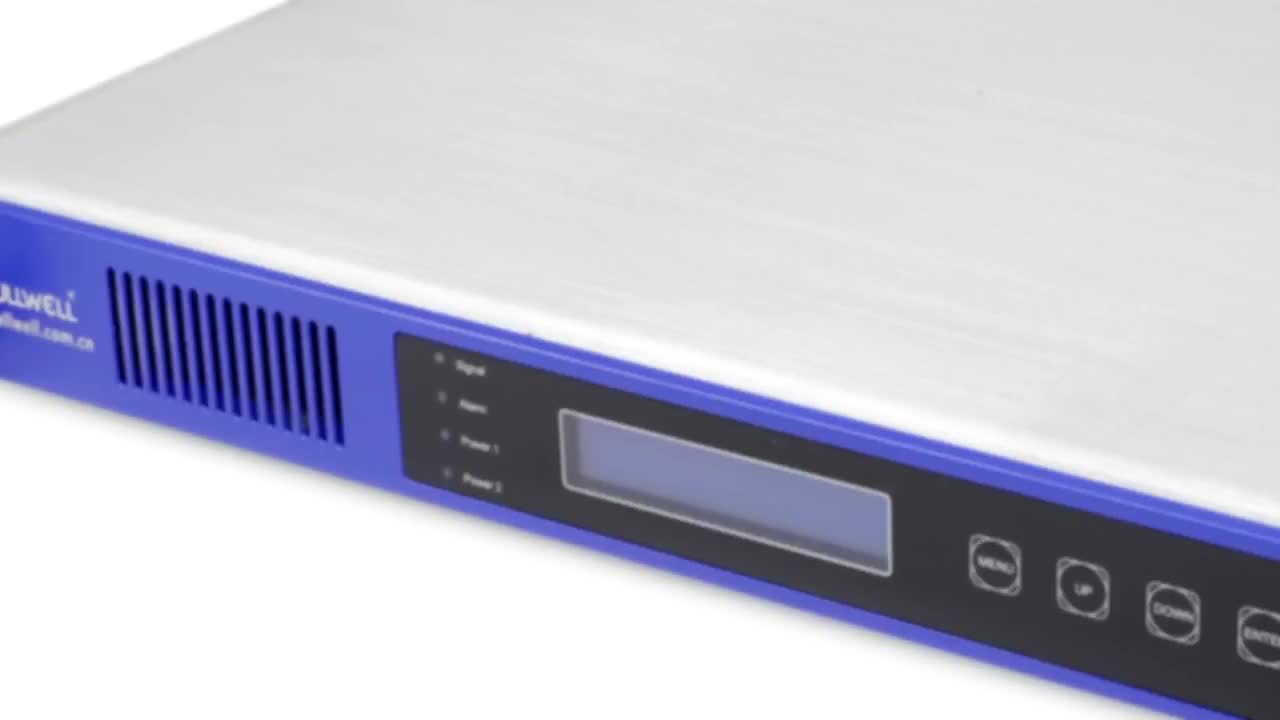 Fullwell CATV Cabecera Digital equipo transmisor óptico de modulación de la Interna de 1550