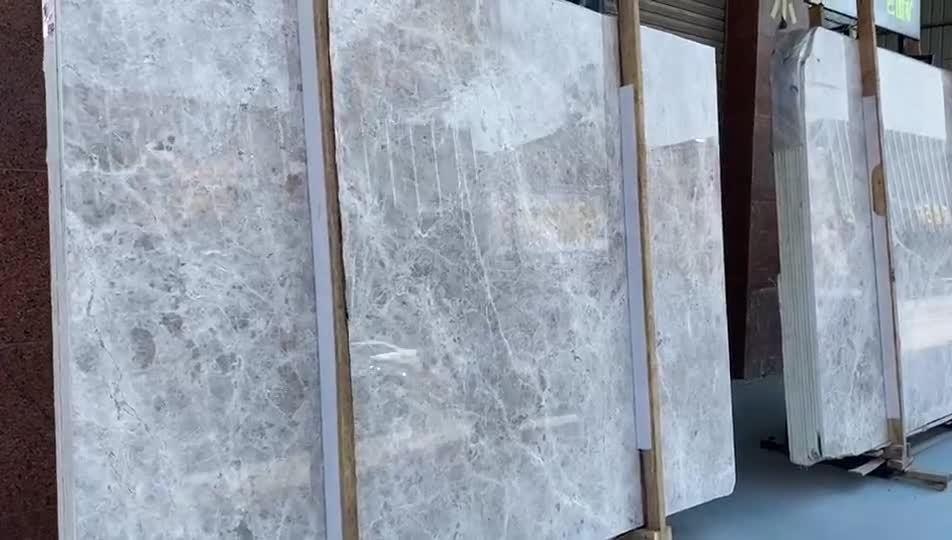 Set bagno in marmo di lusso in pietra grigia con accessori bagno in pietra