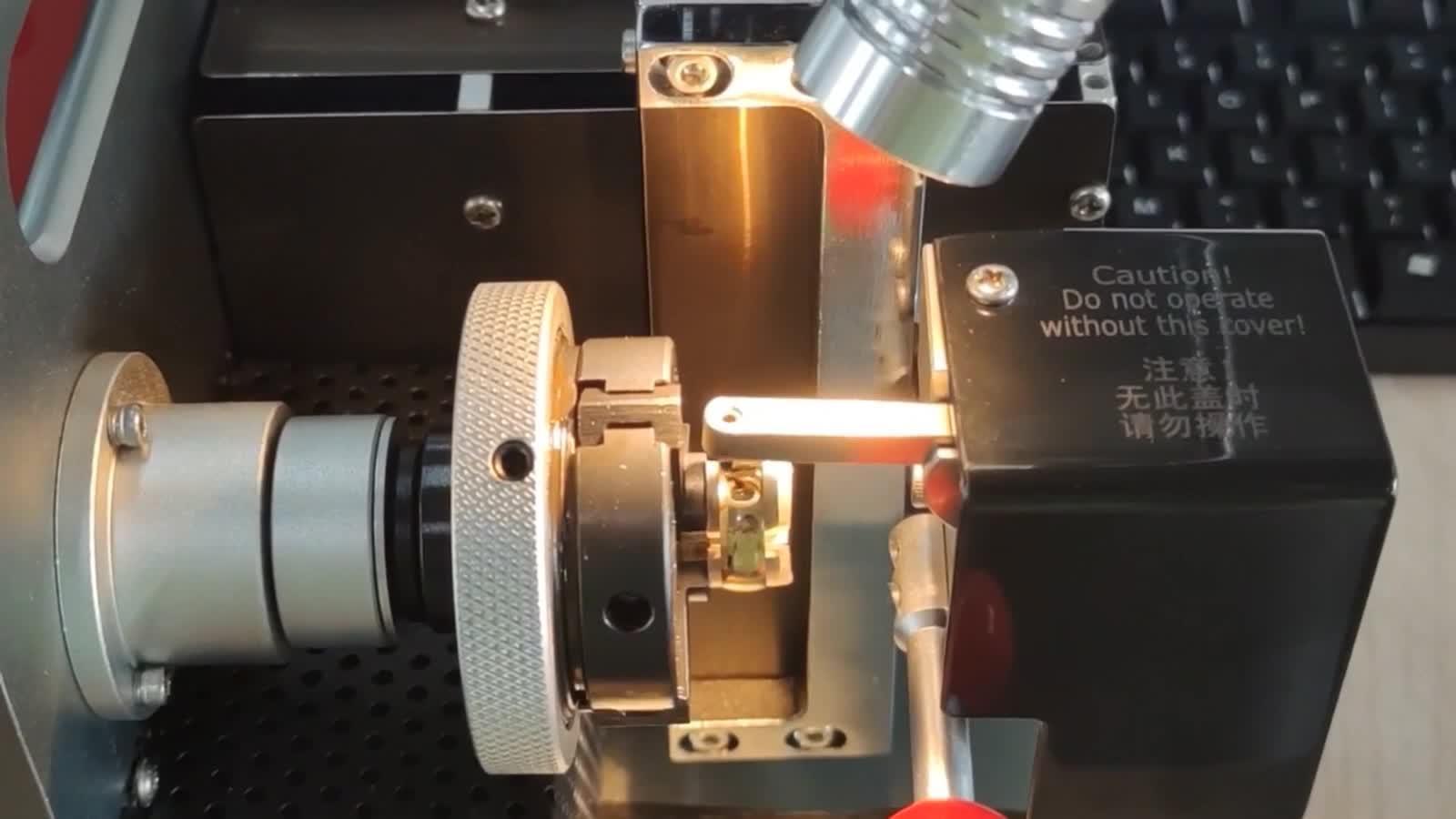Máquina de marcação do Pino do molde de metal