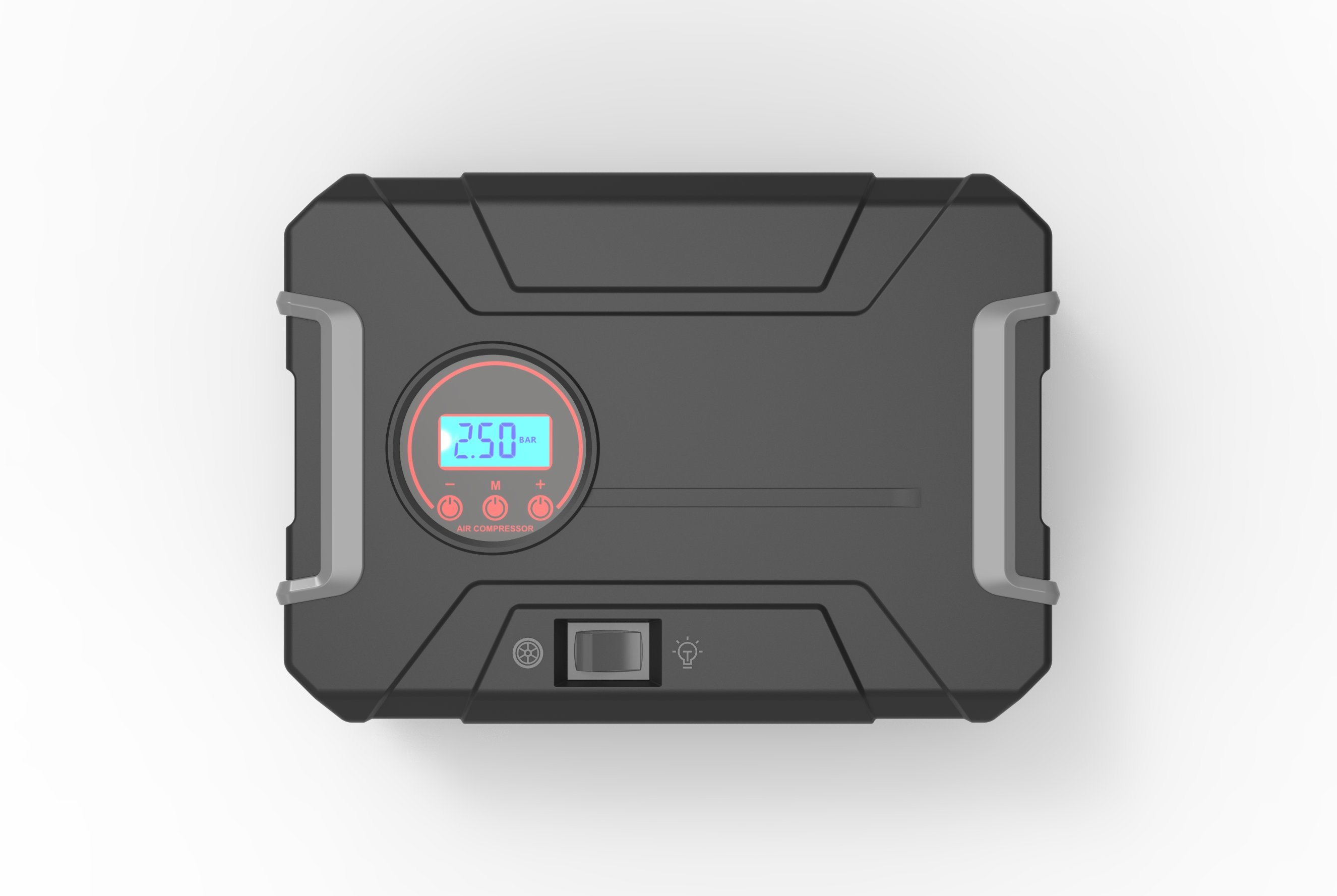 Draagbare Smart Mini-bandenflator van 12 V.