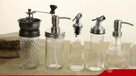 Bouchon de vase en verre, bouchon de bouteille de verre