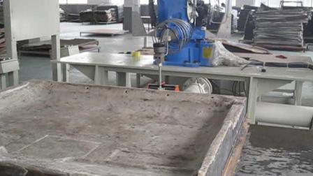 YC Robotic المياه النفاثة آلة قطع المياه