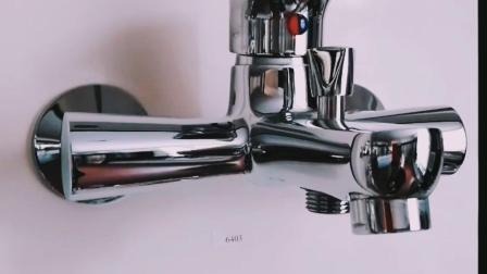 Economico scegliere il rubinetto di ceramica d'ottone del miscelatore del bagno della cartuccia della maniglia (BSD-6403)