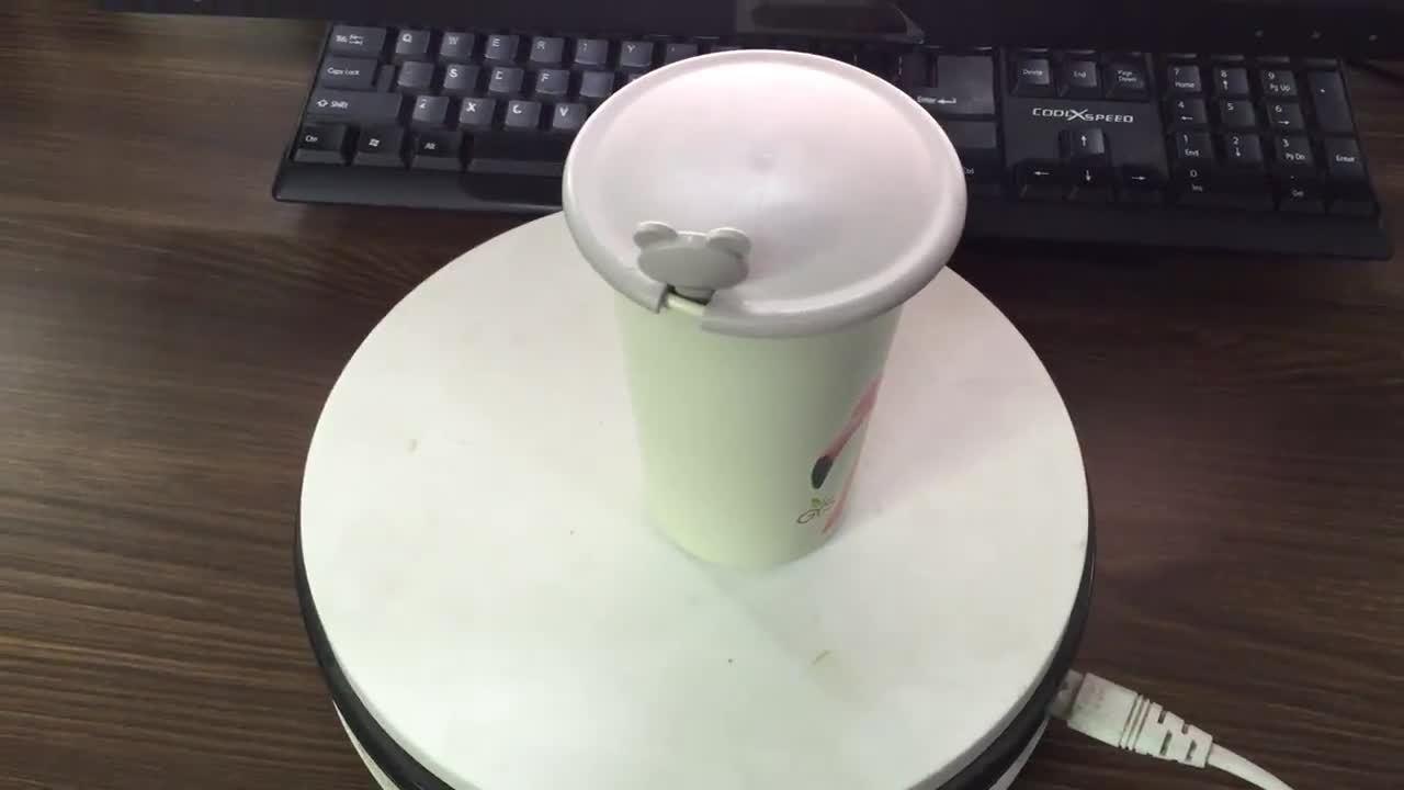 400ml方法は水旅行タケファイバーのマグのミルクのコーヒーカップのホームギフトを遊ばす