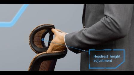 Ergonomischer Direktionsbüro-Ineinander greifen-Stuhl