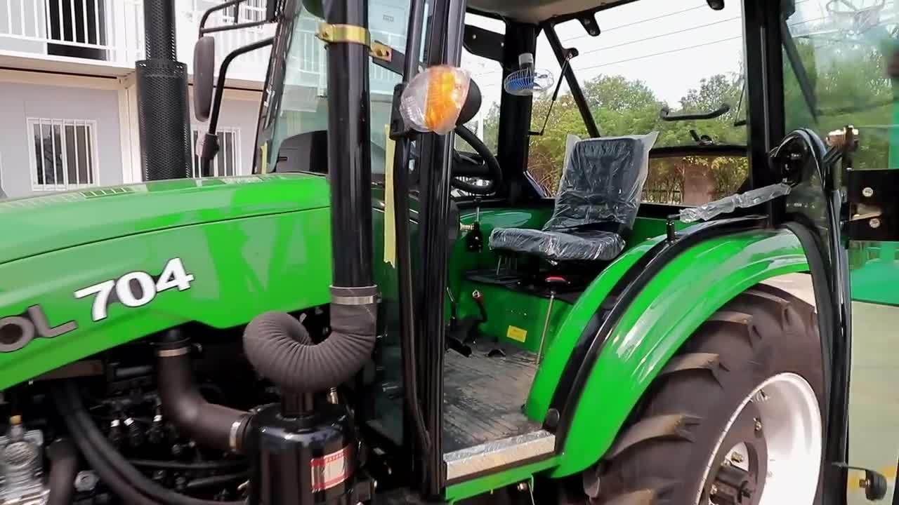 サウジアラビアでの 60HP 70HP 農業用農業用農業用トラクタのホットセール アラビア
