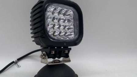 Étanche 48W 5pouce cris Spot LED bleu pour phare de travail 12V/24V de l'Agriculture Ferme du pulvérisateur (GT1013B-48W Bleu)