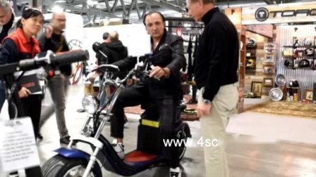 Garantierter CER zugelassener E Qualitätsbester eindeutiger Niu 500W 1500W 2000W 3000W 4000W 60V Erwachsener EWG-Coc Roller-elektrischer Bewegungsfahrrad-fetter Gummireifen Citycoco elektrischer Roller