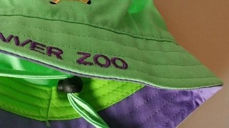 Pulido de sarga 100% algodón bordado del logotipo de animales de la cuchara de la Juventud Hat