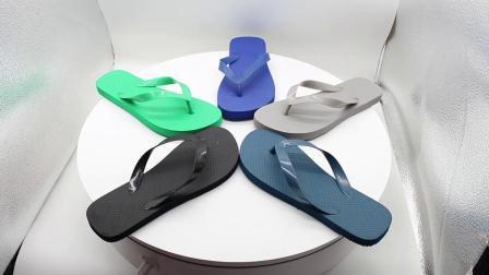 Playa de suministro de la fábrica mujer Flip Flop zapatilla zapatilla Indoor EVA