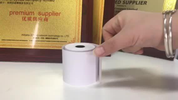 Una buena calidad hasta el rollo de papel térmico de ultrasonido para banco