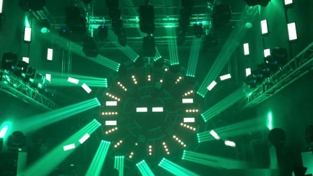 16 * 25 LED Beam Stage Moving Head Light