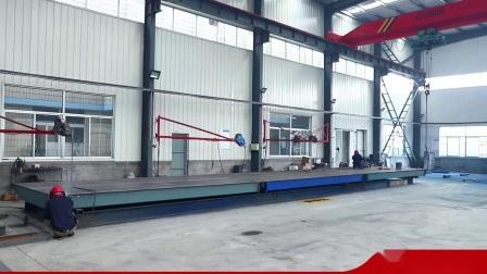 100tons Vehicle Weighing Digital Truck balanza 16X3m con calidad MS Certificate China/ pesaje industrial /balanza de almacén/ balanza de pesaje