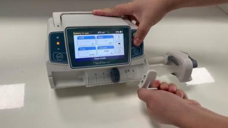 A infusão da Bomba de seringa hospitalar & Seringa Professional