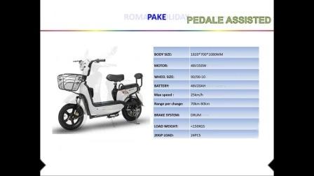 Cee Coc Electric 2 ruedas moto de la entrega de dos de las ventas en China