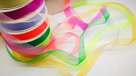 OEM Elastische Kabel Earloop voor Masker, het Nylon Zuivere MetaalLint van het Gezicht van het Satijn van Grosgarin van het Lint Organza Dubbele/Enige voor het Verpakken/Decoratie/de Doos/het Kledingstuk van Kerstmis