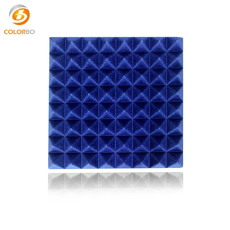 3D Polyester-Faser-Panel für Home-Dekoration Schalldichte Produkt