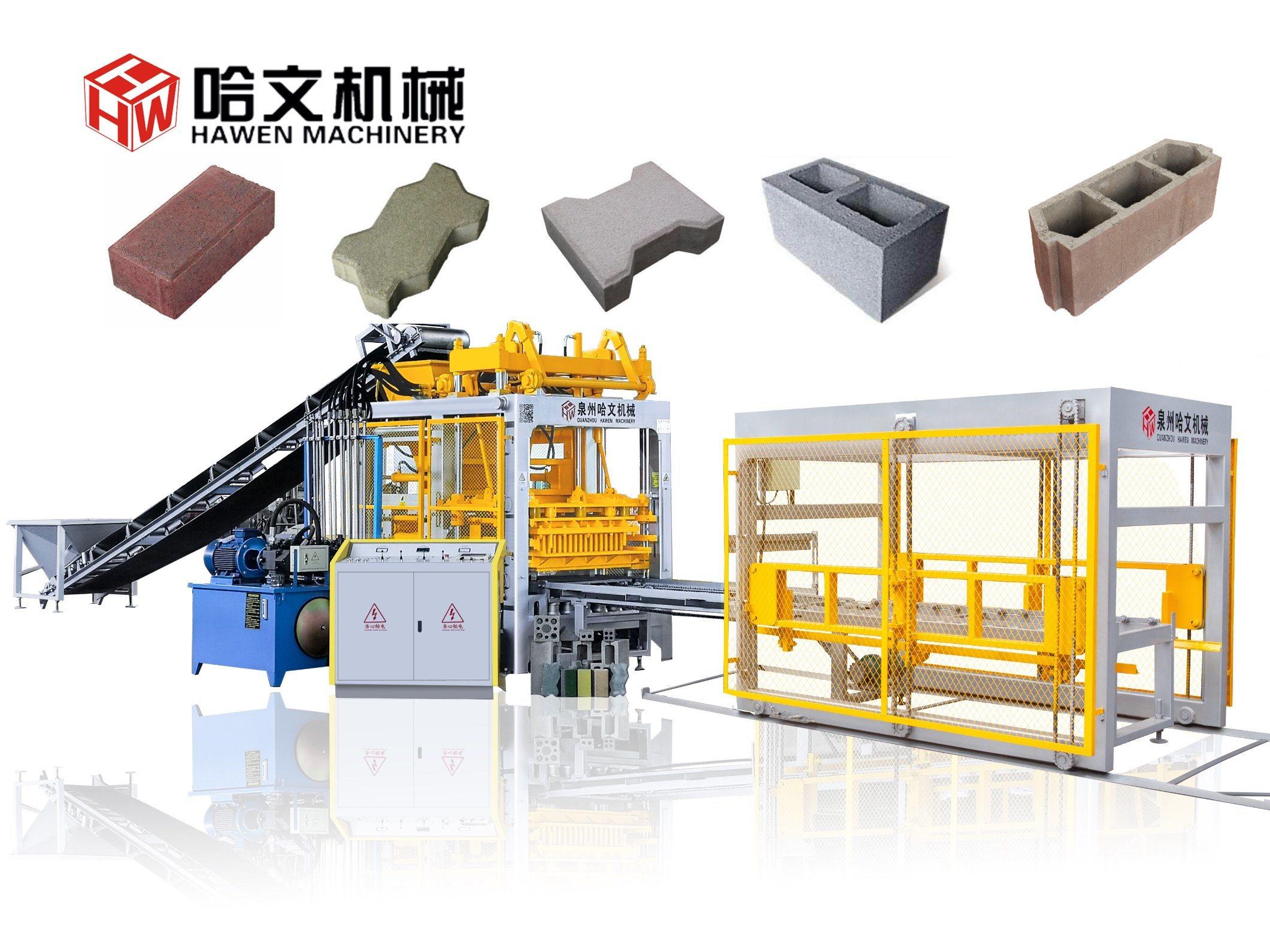 Pleine Finisseur de béton hydraulique automatique machine à fabriquer des blocs de brique creuse